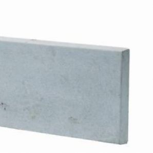Plain Faced Concrete Gravel Board (6ft x 1 ft)